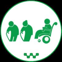 Такси для пенсионеров и инвалидов